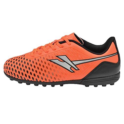 Gola Ion Vx, Chaussures de Football Entrainement Garçon Orange Silver