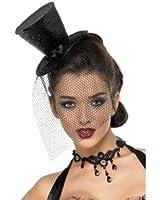 Burlesque Mini Top Hat Fascinator