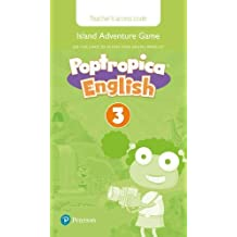 Poptropica English Level 3 Teacher's Online Game Access Card for pack