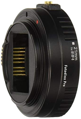 Fotodiox Pro Auto Macro tubo di prolunga 21 sezione per Canon EOS EF/EF S lenti per primi piani estremi con autofocus ed esposizione automatica