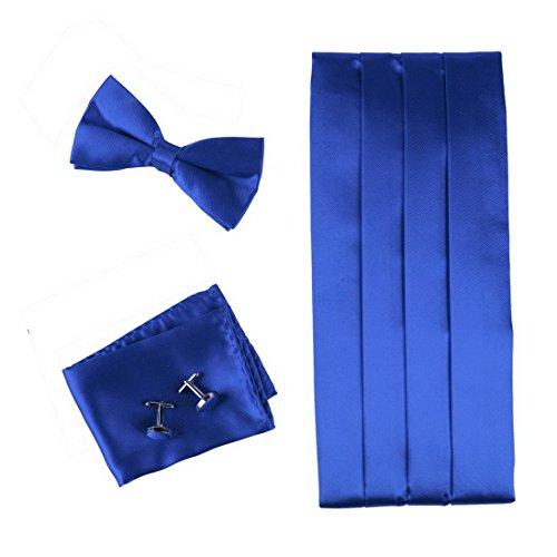cm1010-seta-blu-pre-legato-papillon-per-la-camicia-per-il-matrimonio-hanky-e-cummerbund-gemelli-set-