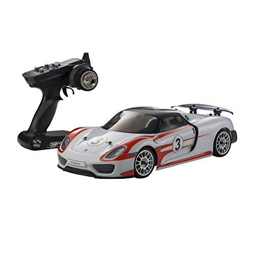 1/10 EP 4WD FAZER VE Porsche 918 Spyder ensemble prêt (Baizahha) 30917T2