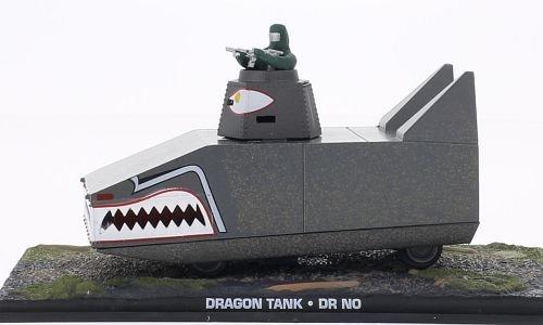 Dragon Tank, James Bond 007 , Modellauto, Fertigmodell, SpecialC.-007 1:43
