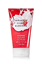 Bath & Body Works Japanese Cherry Blossom Foaming Sugar Scrub 8 Oz