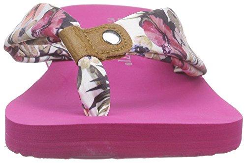 Marco Tozzi - 27113, Sandali infradito Donna Rosa (Pink (ROSE FLOWER C. 504))
