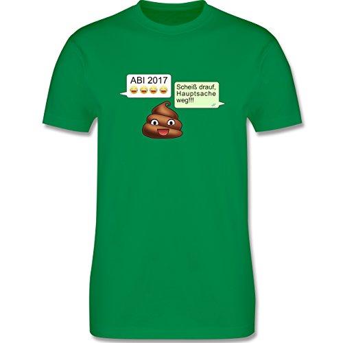 Abi & Abschluss - ABI 2017 - Scheiß drauf Messenger - Herren Premium T-Shirt