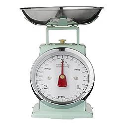 Bloomingville Küchenwaage klein (3kg), mintgrün