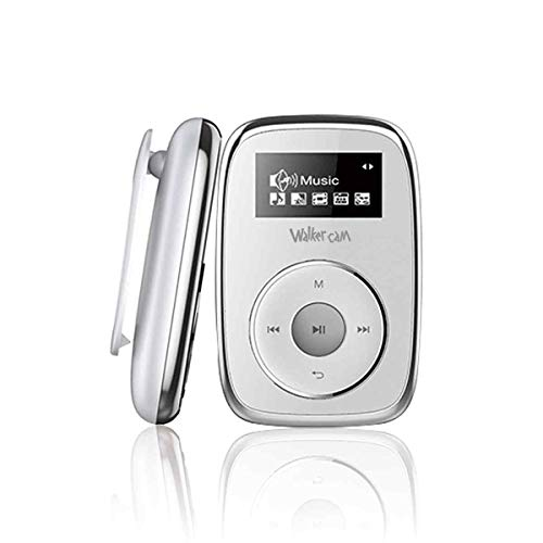 Walkercam M2, Lecteur MP3 8Go avec Clip, Enregistrement Vocal de Radio FM, Design spécial pour Les Amateurs de Sport et de Musique, Carte SD Extensible, Garantie de Remplacement d'un an