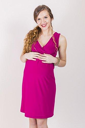Kleid Etuikleid Black & White Two / Damen Dress Umstandskleid Coral (870)