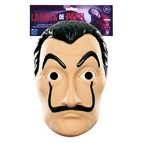Original Cup - Offizielle Maske Salvador Dalí - La Casa De Papel - Kunststoff (Freunde Für Die Halloween-kostüm Besten)