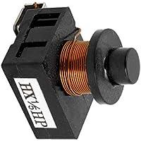 Sourcingmap 4,7-33 Ohm 1 Pin K/ühlschrank PTC Starter Relais schwarz 12 Ohm 1 Pin