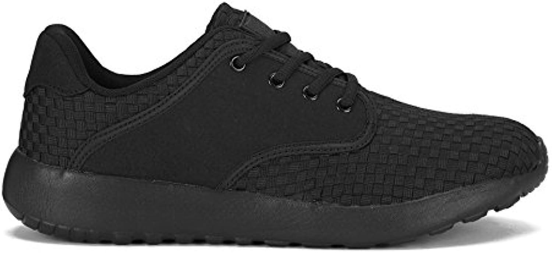 Nike Herren Sneakers Lunar Magista II FK FC Black/Black White White 876385 001 43