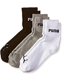 PUMA Men's Athletic Socks (Pack of 3)