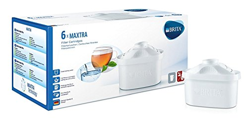 BRITA MAXTRA Water Filter Cartridges - Pack of 6