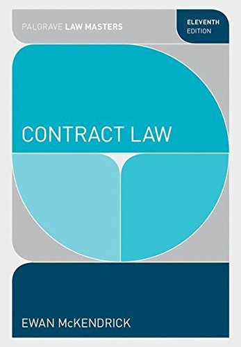 Contract Law (Palgrave Law Masters)