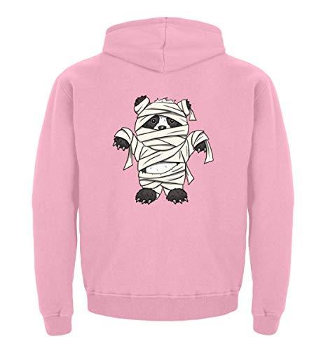 (Kleiner Pandabär mit Mumie Kostüm - Halloween Design für Alle Panda Fans und Bären Freunde - Kinder Hoodie)