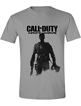 Call Of Duty Infinite Warfare - Soldiers Pose Camiseta Gris/Melé