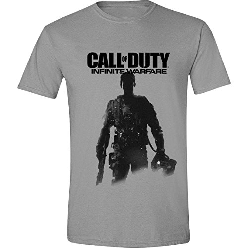 Call of Duty: Infinite Warfare -  T-shirt - Uomo grigio Large