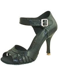shangyi adaptable–métrica gefertigter tacón–sintéticos–Estándar de danza–Zapatillas de mujer Dorado dorado Talla:us6.57 / eu37 / uk4.55 / cn37