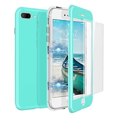 CE-Link Funda iPhone 7 Plus Funda iPhone 8 Plus Cristal