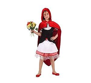 Angel Tomas S.A. - Disfraz de caperucita infantil, color rojo, talla 3, 7-9 años