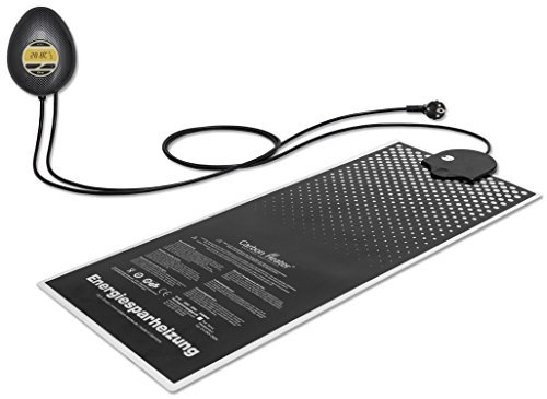 Carbon Heater IQ Carbon digital - 240 Watt - T.B.D intelligente energiespar Wasserbettheizung - ganzheitlich abgeschirmt -