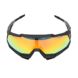 Aili Cycling Glasses Sports Sunglasses Outdoor Multifunctional Polarized Goggles,B