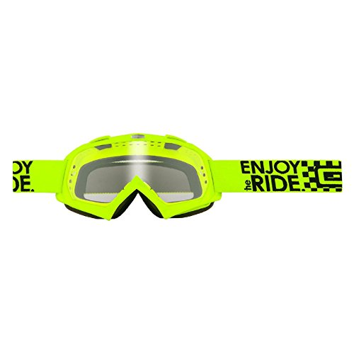 O'Neal Kinder B-Youth Goggle Neon Gelb Brille RL Motocross MX DH Downhill, 6025K-205