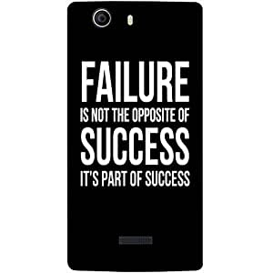 Casotec Motivational Quote Design 3D Printed Back Case Cover for Micromax Canvas Nitro 2 E311