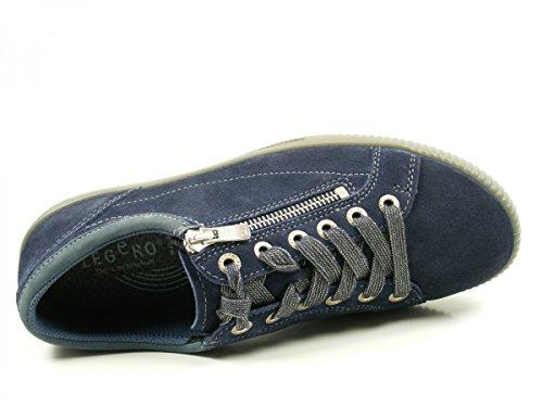 Legero 7-00818 Tanaro Femmes Tanaro Chaussures À Lacets Blau