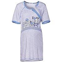 Happy Mama. Donna Prémaman carina camicia da notte gravidanza allattamento. 365p