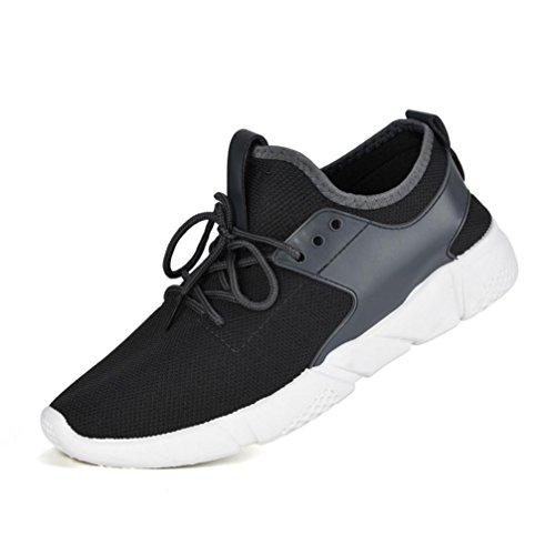 Amlaiworld Zapatos de hombre zapatillas deportes hombre running Zapatos masculinos Casual Zapatos de camuflaje Zapatillas de Senderismo Deportivas Aire Zapatos para Correr hombres (Gris, EU42/CN 43)