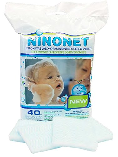 Esponjas jabonosas desechables infantiles NINONET®
