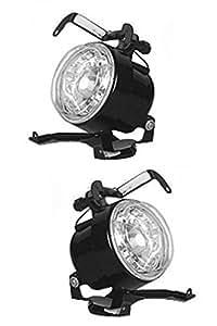 Vheelocity 71369 Fog Lamp Assemblies for Hyundai Santro Xing