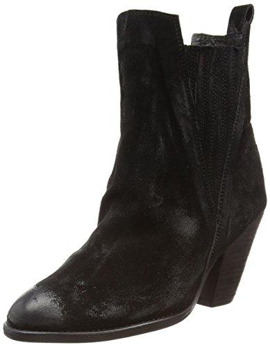 Black Lily - Ludmilla Boot, Stivaletti Donna Nero (Nero (nero))