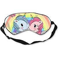 Natural Silk Eyes Mask Sleep Kiss Rainbow Unicorn Blindfold Eyeshade with Adjustable for Travel,Nap,Meditation... preisvergleich bei billige-tabletten.eu
