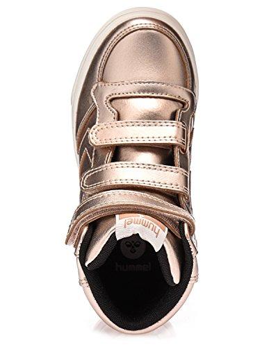 Hummel Fashion Stadil Metallic Sneaker hell pink