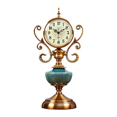 Du-yanting orologio da tavolo orologio da camera da letto con orologio da 6 pollici orologio in ceramica da camera da letto orologio da camino