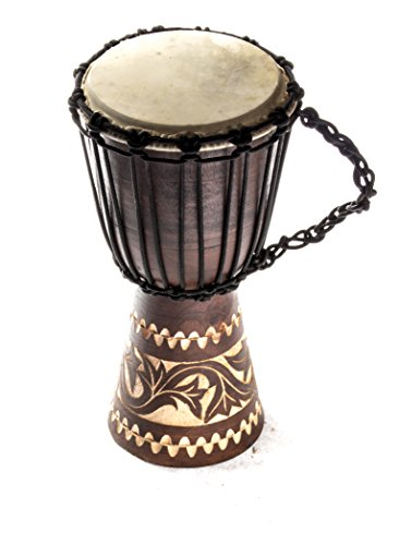 Djembe Trommel Bongo Drum Handtrommel Buschtrommel Percussion Kinder Fair Trade 30cm