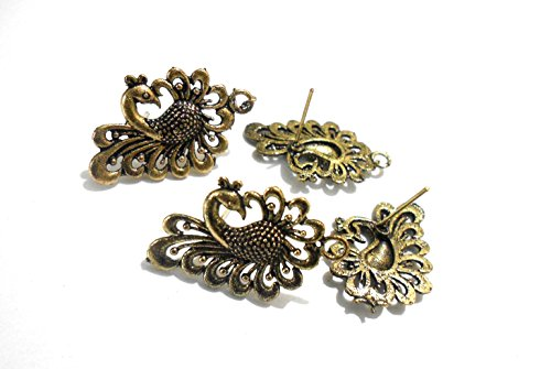 Antique studs for ear-rings & jewellery design 5