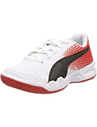 Puma Kids-Unisex Veloz Indoor NG Jr White Black