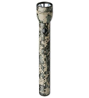 Mag-Lite ST3DMR6 3D-Cell Hochleistungs-LED Stab-Taschenlampe, 131 Lumen, 31,5 cm digital-camouflage für 3 Mono-Batterien von Mag-Lite bei Lampenhans.de