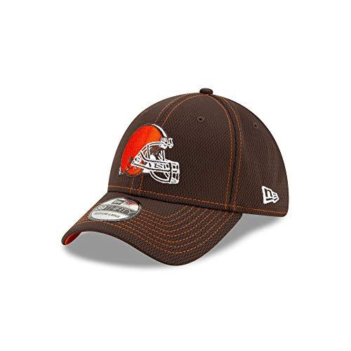 New Era - NFL Cleveland Browns On Field 2019 Sideline Road 39Thirty Stretch Cap - Braun Größe M-L, Farbe Braun -