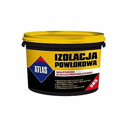 ® Atlas bitume de masse pour isolation Anti Humidité 10kg