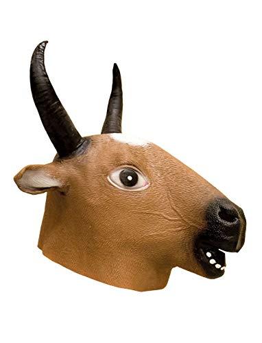 TrendClub100® Latex Tier Maske - Hirsch Deer