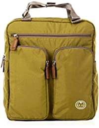 Yoovi Baby Diaper Backpack Nappy Changing Bag For Daddy And Mummy With Changing Pad And Stroller Straps (Olive...