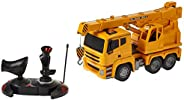 Remote Control Truck with 3 Pins Flat Adaptor and Battery Pack, 6 Years and Above