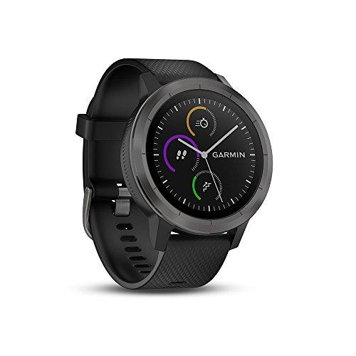 Garmin Vívoactive 3 GPS-Fitness-Smartwatch, 24/7 Herzfrequenzmessung am Handgelenk, vorinstallierte Sport-Apps, integriertes GPS, Mobile Payment Via NFC