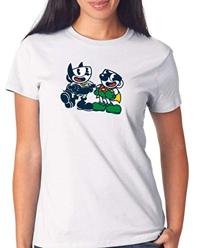 Certified Freak Cuphead Robin T-Shirt Girls White M
