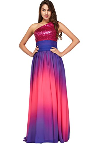 ivyd ressing robe robe populaire mousseline Lave-vaisselle Prom Party kled robe du soir - Violett A